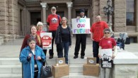 AUSTIN, TX – On Wednesday, April 24th, a delegation of TSEU activists were at the Capitol as part of a statewide University Day of Action in which TSEU members from...