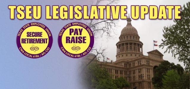 PAY RAISE: The TSEU pay raise fight began early in the session with members pushing legislators for a meaningful and competitive pay raise for all state workers. TSEU members coordinated...