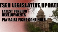 Latest Pension Developments Yesterday, Senate Bill 1458 passed out of the Senate. That bill reduced pension benefits for members of TRS while increasing the state and employee contribution rates over...