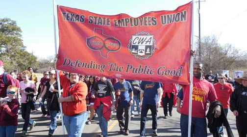 The AFL-CIO held its annual Dr. Martin Luther King Jr. 'Civil and Human Rights' Conference in San Antonio this the year giving TSEU members an exciting opportunity to attend MLK...