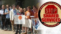 AUSTIN, TX– Victory! After months of dogging the UT administration about problems with their roll-out of Shared Services, the Save Our Community Coalition has succeeded in convincing UT to make...