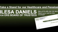 [UPDATE - May 7, 2015] Ilesa Daniels WINS ERS Board of Trustees election!  details ERS VOTING HAS NOW ENDED.  Results are due to be announced in early May.  Check back...
