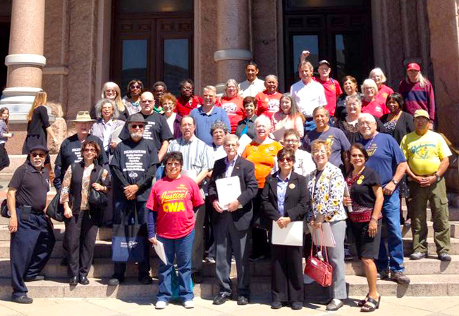 TSEU-Retiree Mini-Lobby Day 2015