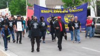 Hundreds of union members, family and supporters marched, rallied, and met with legislators on Wednesday, April 8th. After a noisy march and rally, teams of union members headed into the...
