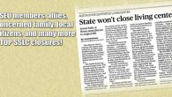The bill calling for the closure of Austin State Supported Living Center and setting up a commission to consolidate and close others died Sunday after House and Senate conferees failed...